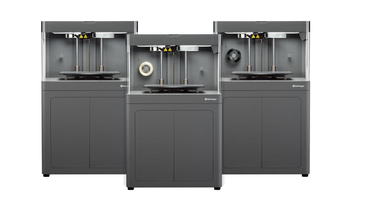 Markforged 3D Industrial printers